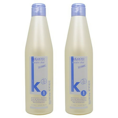 Salerm Keratin Shot 1 Maintenance Shampoo 18.3oz / 500ml
