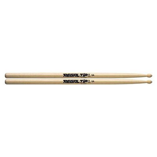 Regal Tip 5A American Hickory Wood Tip Drumsticks by Regal Tip