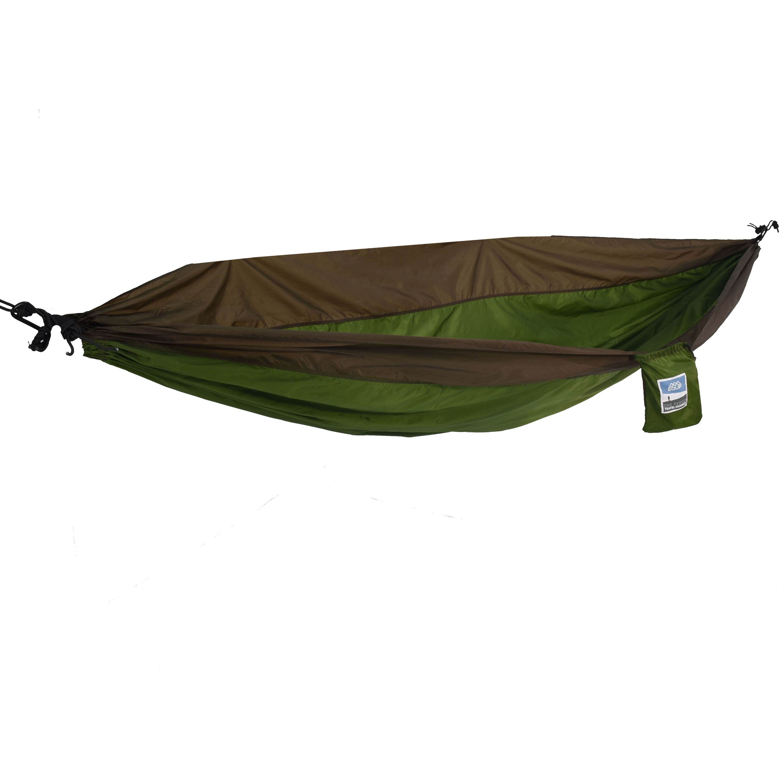 Equip 1-Person Durable Nylon Portable Hammock for Camping, Hiking, Backpacking, Travel, Includes Hanging Kit, by Generic