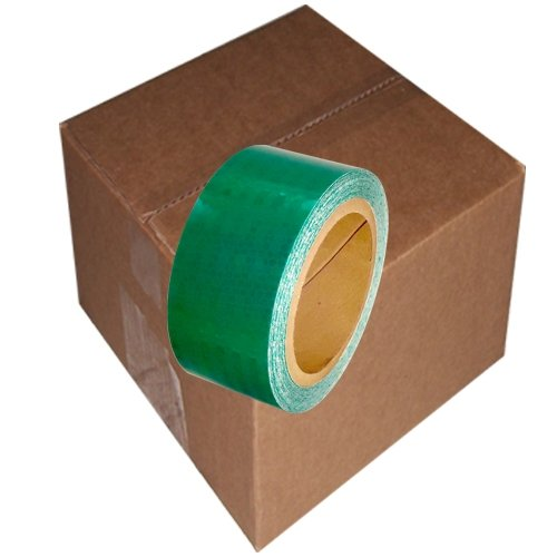 "Super Bright High Intensity Reflective Tape 2"" x 30' (6 Roll/Case) Green"