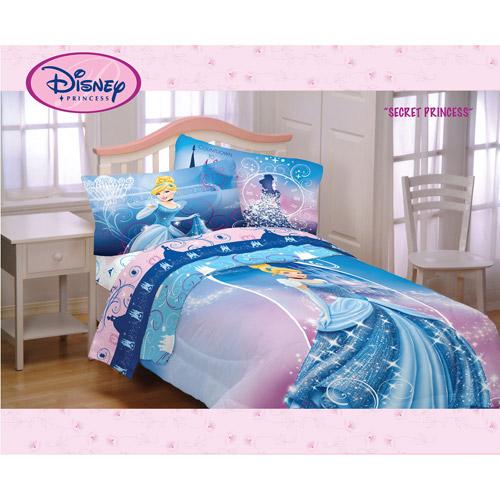 Disney Cinderella Secret Princess Twin/Full Reversible Comforter