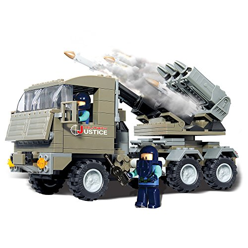 Brictek 15017 Rocket Launcher Set by BRICTEK BUILDING BLOCKS