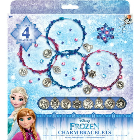 Disney Frozen Charm Bracelet Set