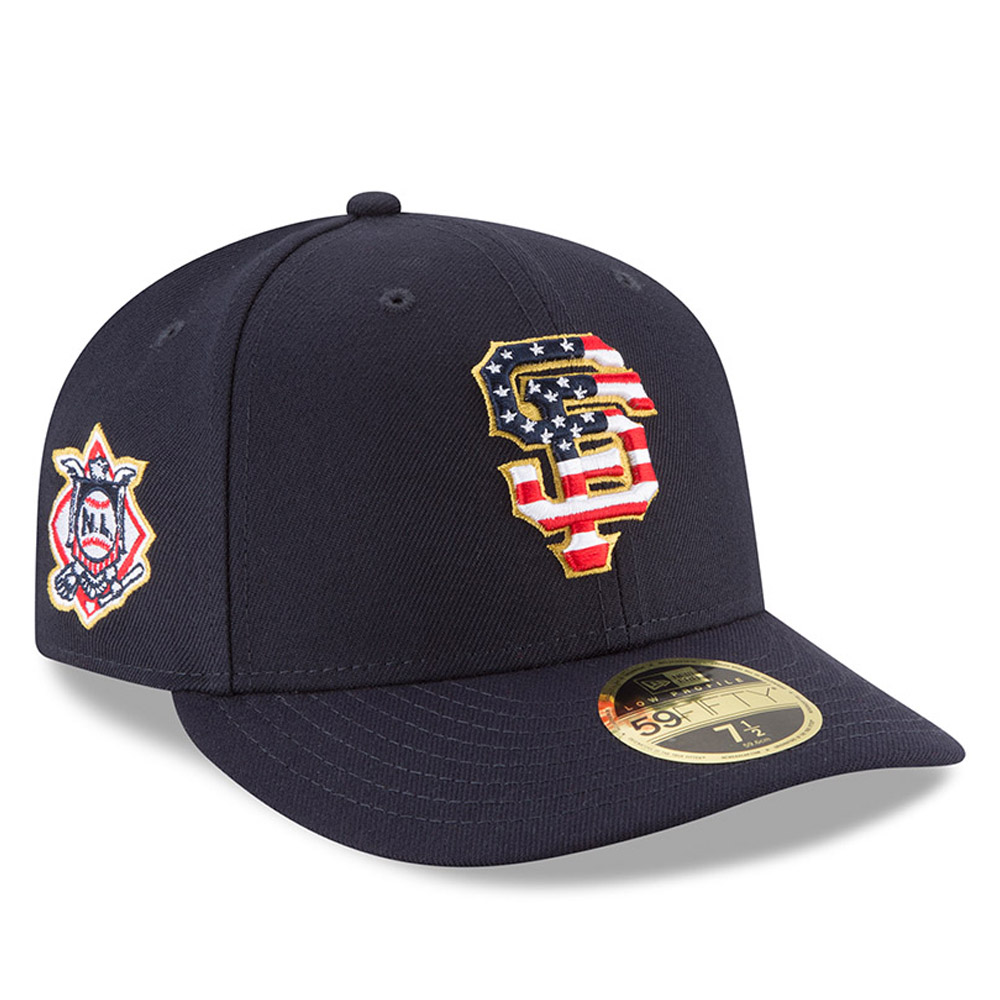028a0989f low price san francisco giants new era 2018 stars stripes 4th of july on  field low