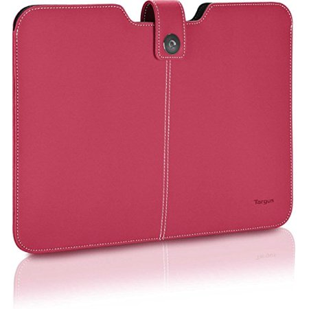 Click to Open Expanded View Targus Twill Sleeve for 13.3-inch Laptops / Ultrabooks/ Macbook Air/ Macbook Pro Pink Best Top Unique Popular Gift Idea Her Him Women Men Aunt Grandma Grandma Roommate