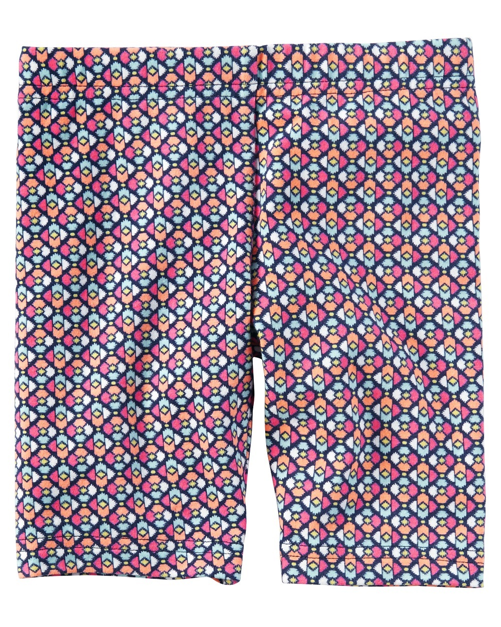 Carter's Baby Girls' Printed Biker Shorts, 24 Months