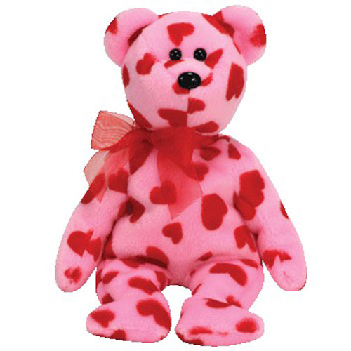 TY Beanie Baby - LITTLE SQUEEZE the Bear (Hallmark Gold Crown Exclusive) (8.5 inch)