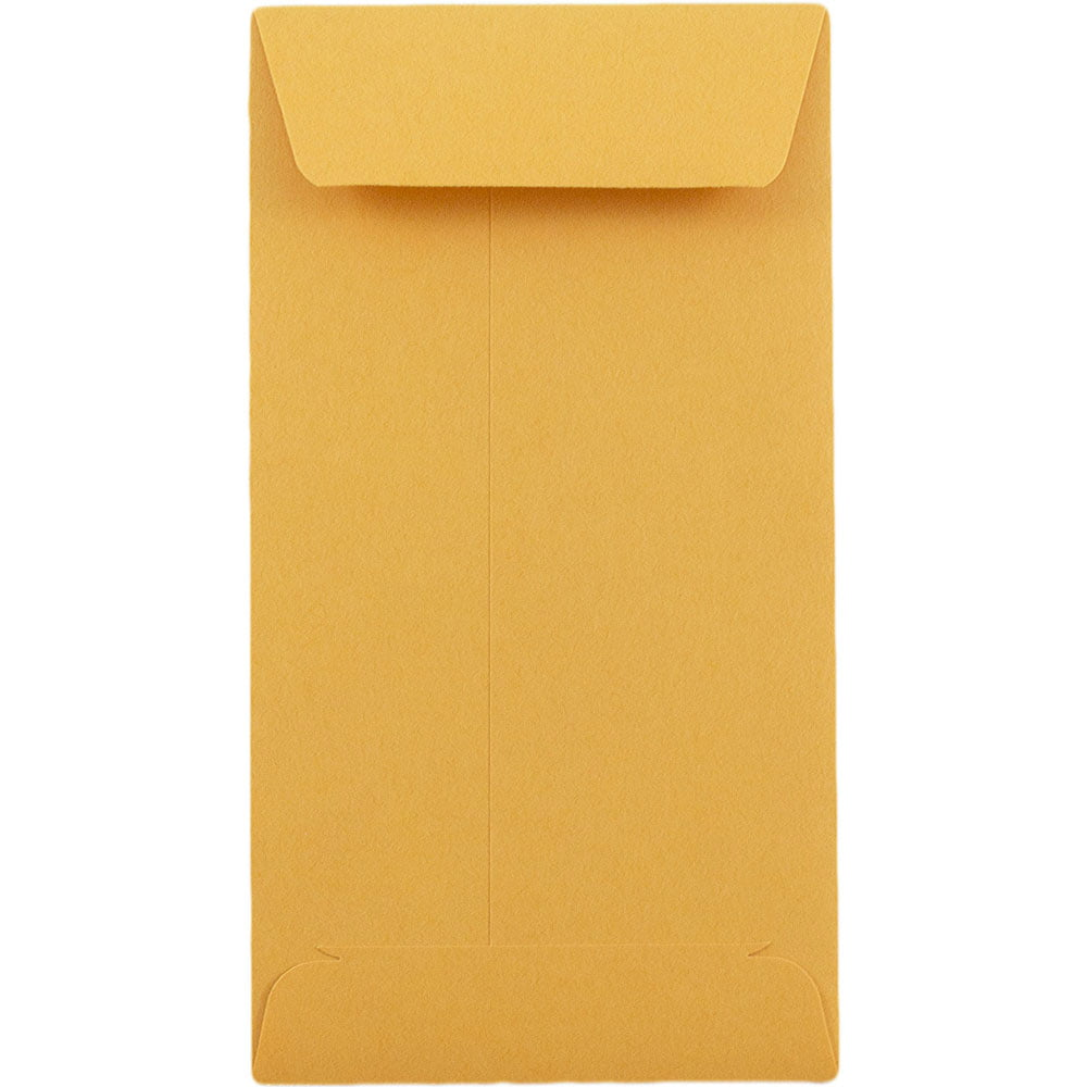 JAM PAPER #5.5 Coin Recycled Business Envelopes Brown Kraft Recycled 50//Pack 3 1//8 x 5 1//2