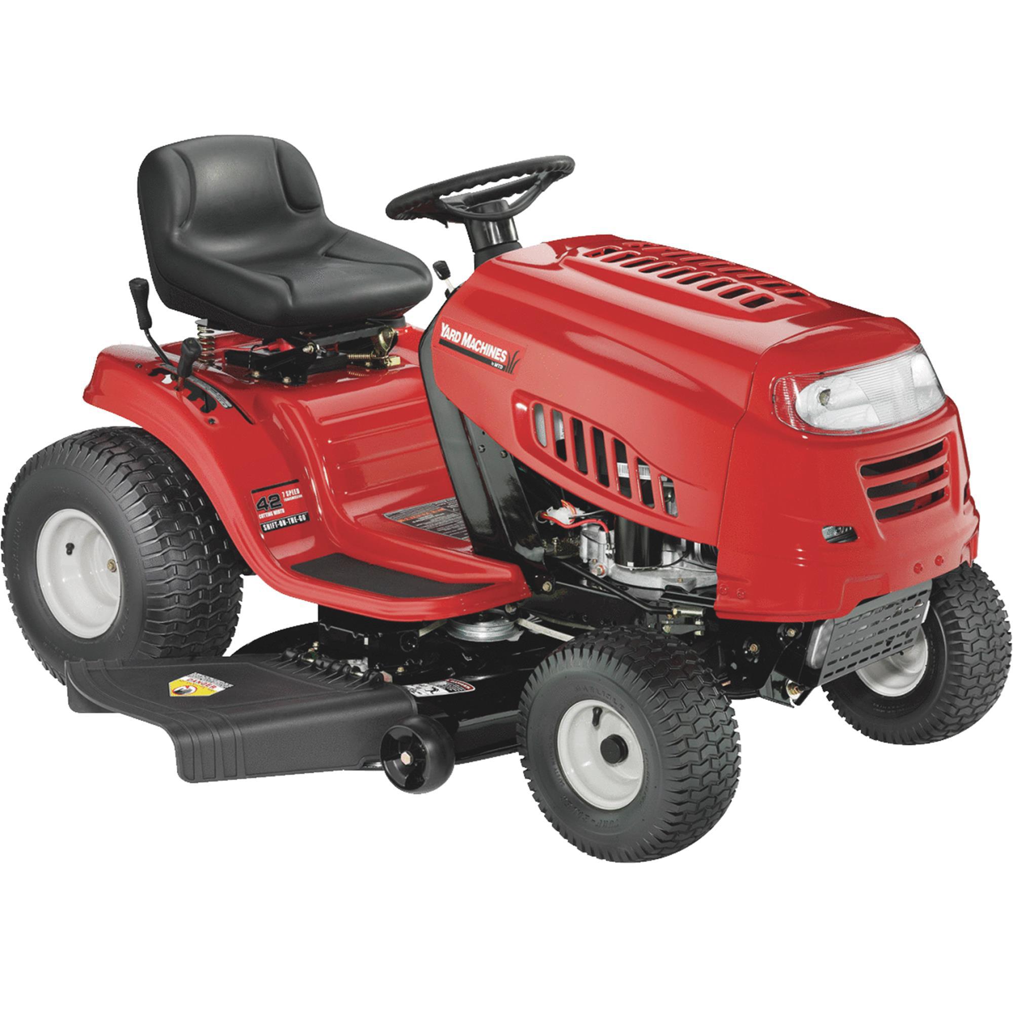 Yard Machines 42 Lawn Tractor Walmart Com