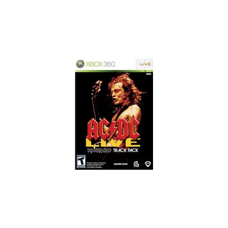 Rockband AC/DC Track Pack Game Only- Xbox 360