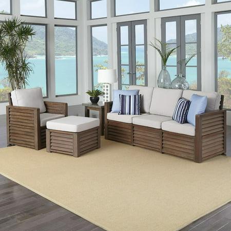 Home Styles Barnside 4 Piece Living Room Set