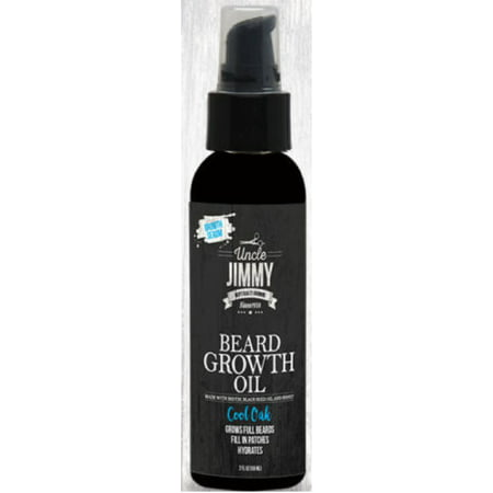 Uncle Jimmy Beard Growth Oil, Cool Oak 2 oz