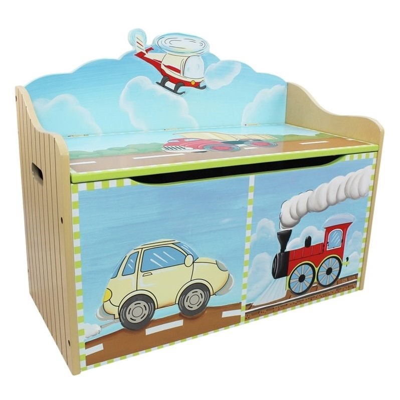 Fantasy Fields - Transportation Toy Chest