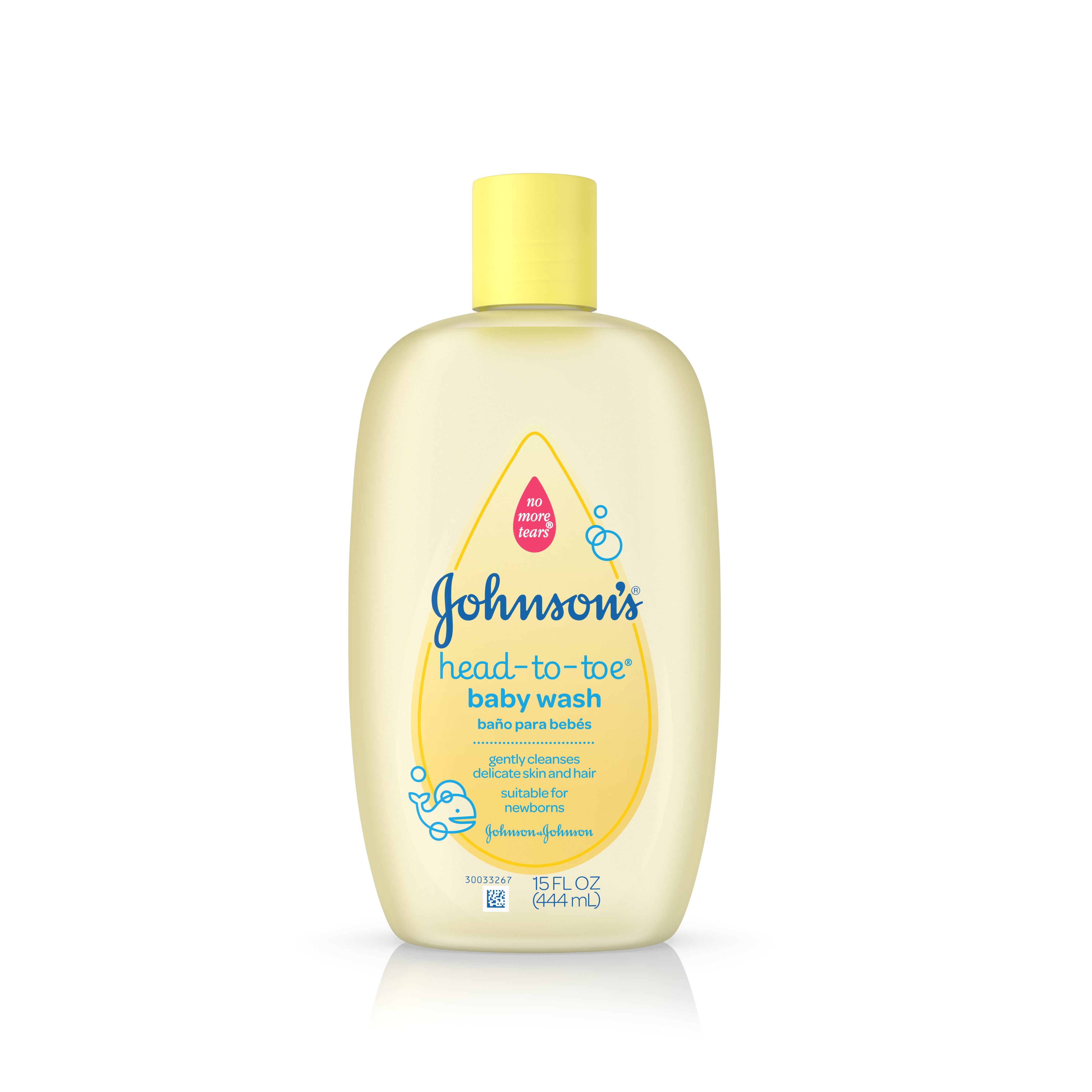 Johnson's Head-To-Toe Baby Wash, Gentle Cleanser, 15 Fl. Oz.