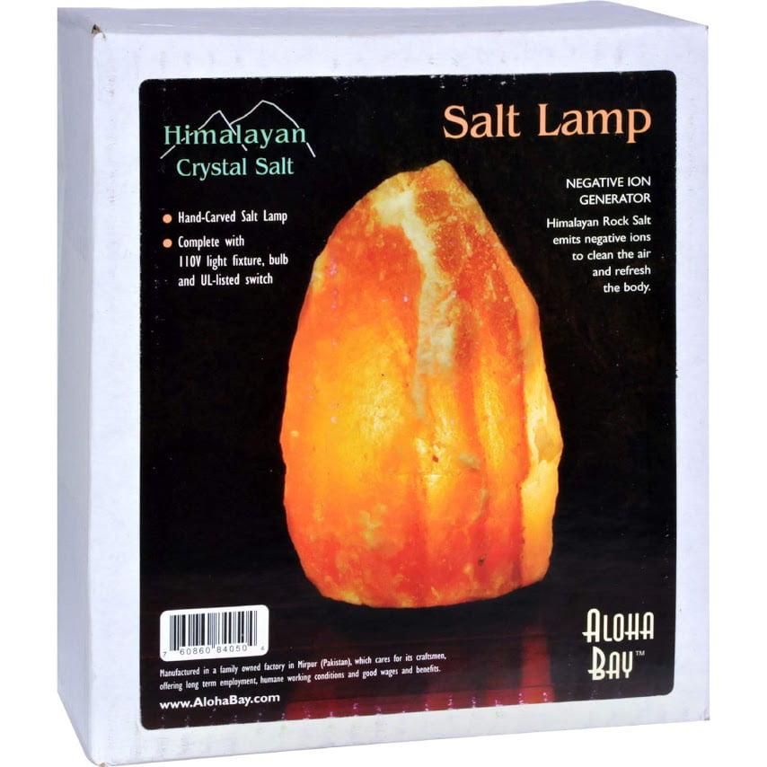 Himalayan Crystal Salt Lamp 1 Lamp by Generic
