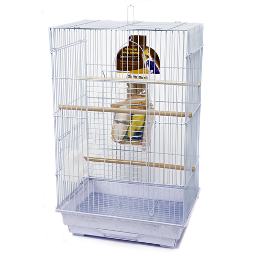 Penn Plax Medium Square Bird Starter Kit
