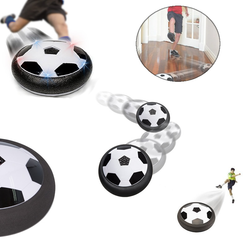 SLIDE AND GLIDE Indoor Soccer Hover Ball For All Ages by