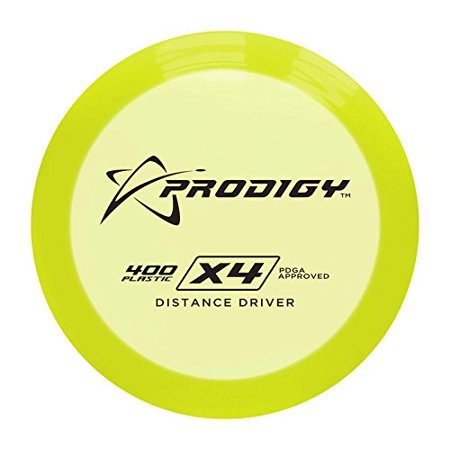 400 Series X4 Distance Driver Golf Disc  Colors May Vary    170 174G  Colors May Vary By Prodigy Disc