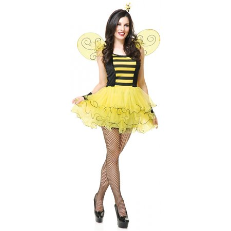 Sweet Bee Adult Costume - X-Large (Adult Bee Costume)