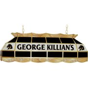 Trademark George Killians Billiard Lamp, Stained Glass