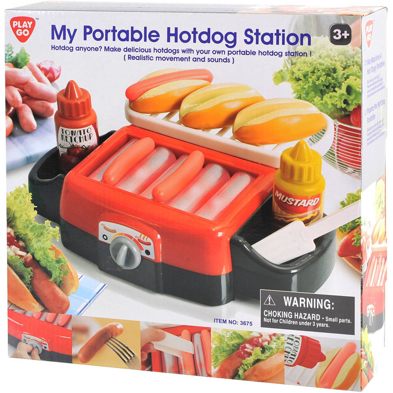 Portable Hotdog Station
