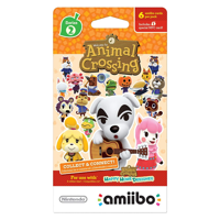 Animal Crossing amiibo Card Pack: Series 2 (Single Pack)