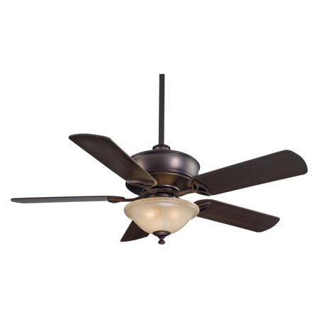 Minka Aire F620-DBB Bolo 52 in. Indoor Ceiling Fan - Dark Brushed (Minka Iron Ceiling Fan)