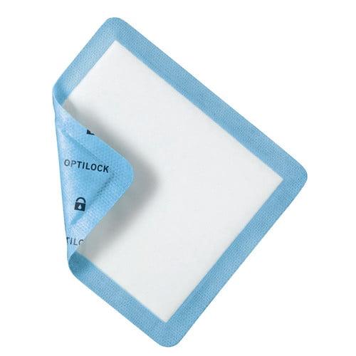"OptiLock Non-Adhesive Dressing 5"" x 5-1/2"" with 4"" x 4.7"" Pad"