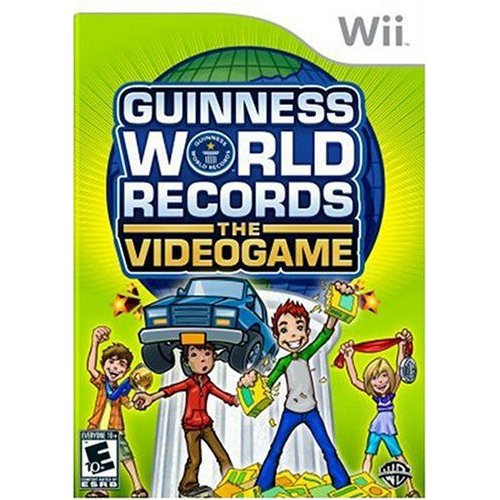 Guiness World Records: The Video Game -Nintendo Wii