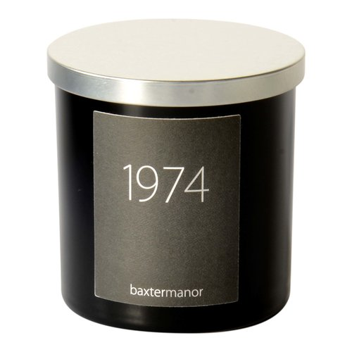 Baxter Manor #OurHistoryCollection 1974 Scented Designer Candle