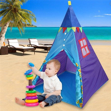 Kids Play Tent Indoor Outdoor Foldable Children Sleeping Beach Colorful Breathable Folding Toddler