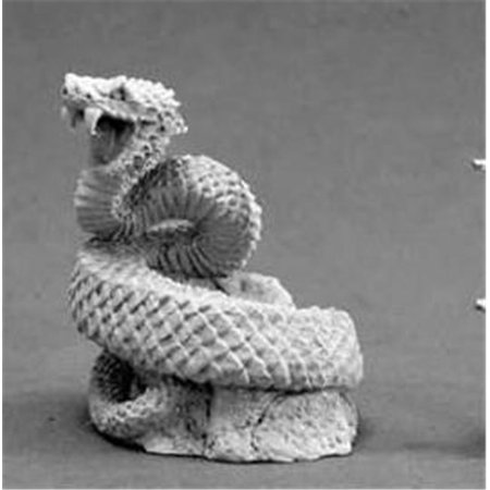 giant snake miniature reaper multi-colored