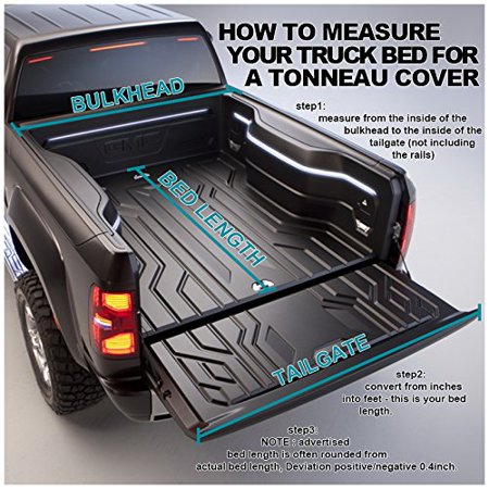 2wd Short Bed - Chevy Silverado 1500 2WD LT 5.8ft Short Bed Tri-Fold Tonneau Cover
