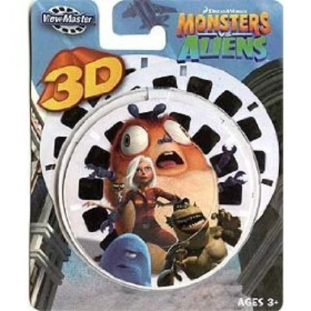 Learning 3d Reels - View-Master 3D Reels Monsters vs. Aliens, Monsters and Aliens By Monsters and Aliens