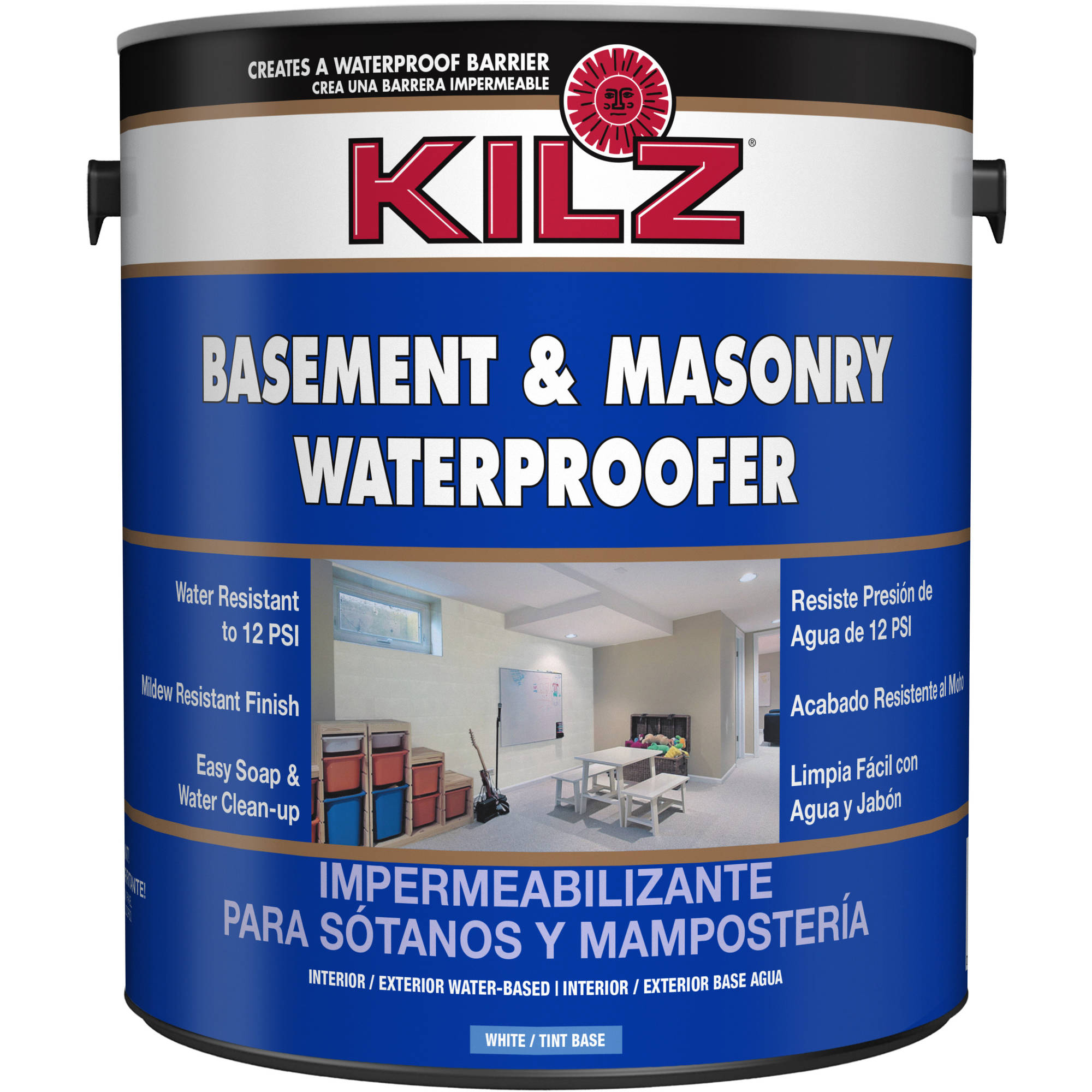 KILZ Basement and Masonry Waterproofer - Walmart.com