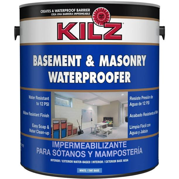 Kilz Basement And Masonry Waterproofer, Kilz For Basement Walls