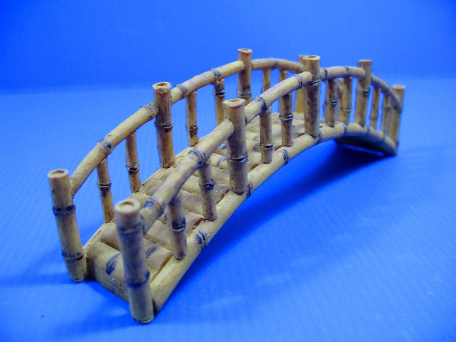 Bamboo Bridge Aquarium Ornament Decoration fish tank by