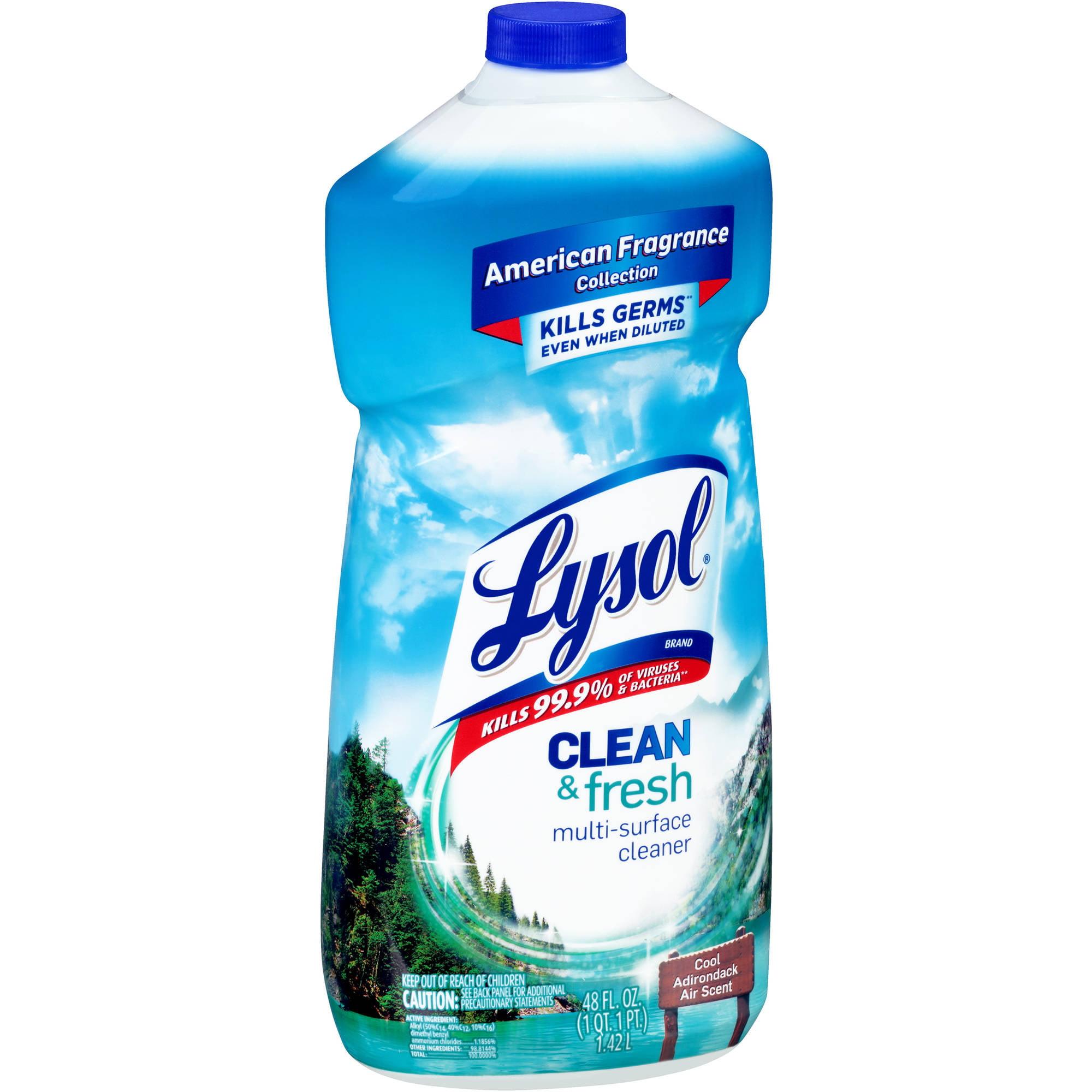 Lysol Clean & Fresh Multi-Surface Cleaner, 48 fl oz