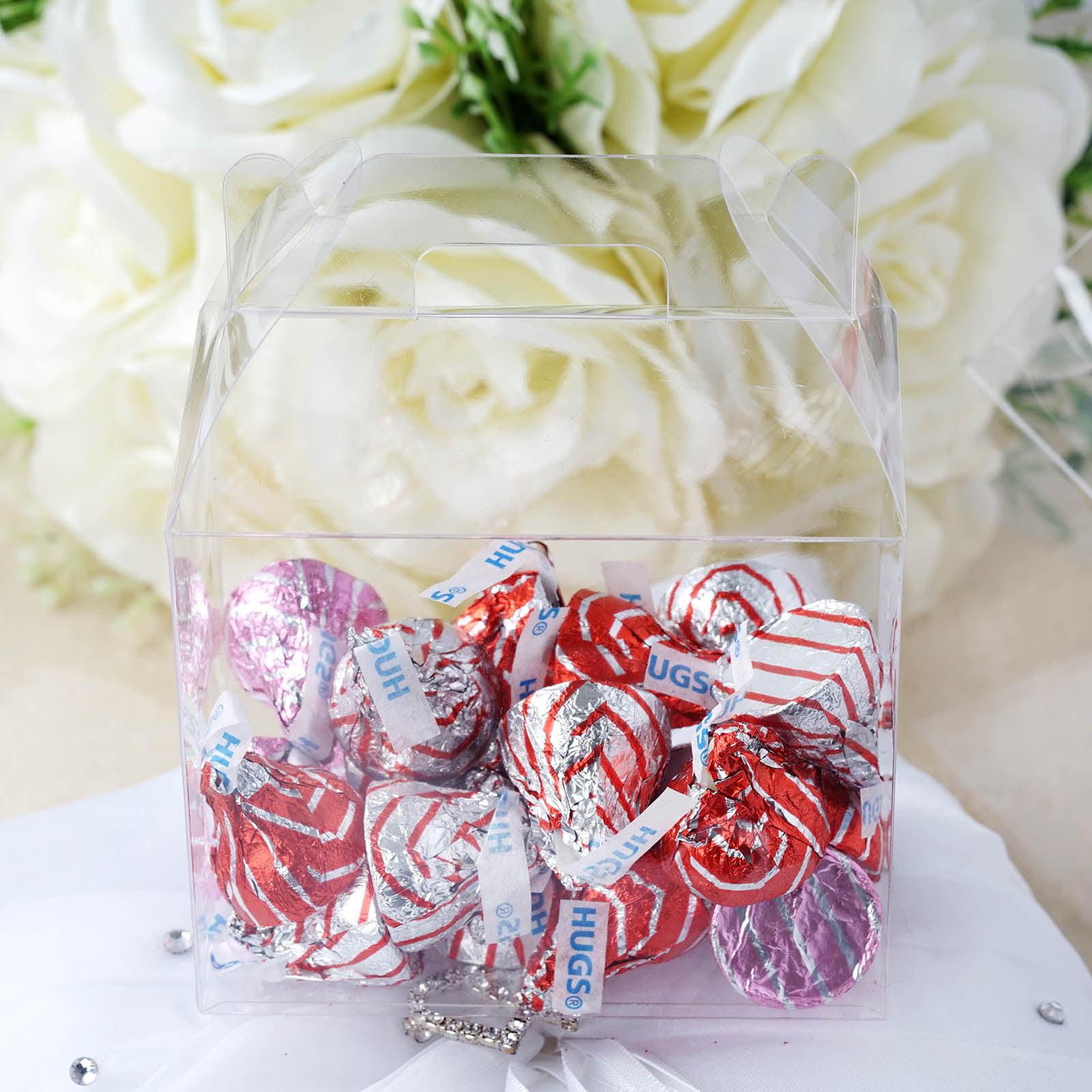 """Wedding Gifts At Walmart: BalsaCircle Clear 100 Pcs 3.5"""" Wedding Favors Boxes"""