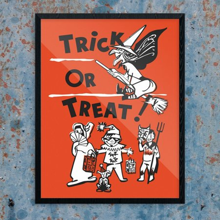 Halloween Trick or Treaters Print - Halloween Games For Trick Or Treaters