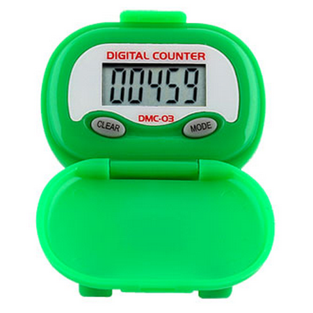 DMC03 Multi-Function Pedometer - Green