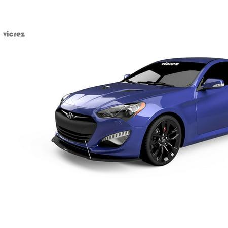 Vicrez Hyundai Genesis Coupe 2017 Vz1 Style Front Per Splitter Vz100952