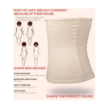 3db0ae7684 Fashion Women Casual Corset Waist Training Shaper Body Shapewear Underbust  Belt Caroj - image 1 of ...