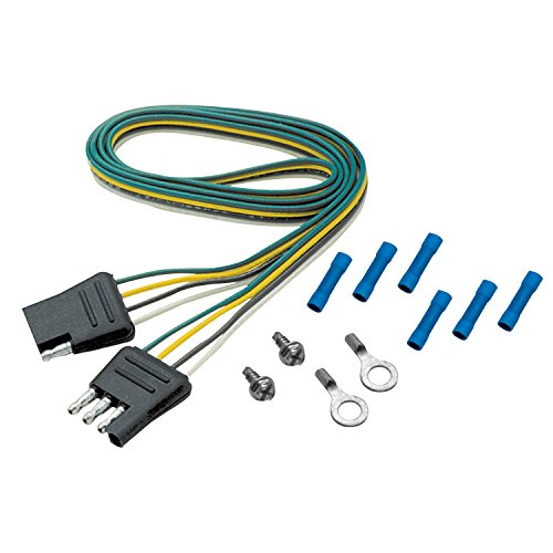 aleko 7 foot trailer wire connector 7 way extension