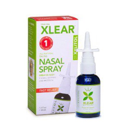 Xylitol Nasal Spray Xlear 1 5 oz Liquid