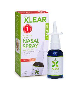 Xylitol Nasal Spray Xlear 1.5 oz Liquid