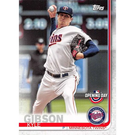 2019 Topps Opening Day 170 Kyle Gibson Minnesota Twins Baseball Card