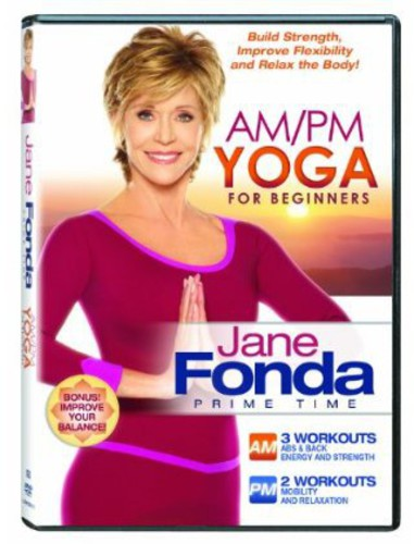 JANE FONDA-AM PM YOGA FOR BEGINNERS (DVD) (WS ENG 2.0 DOL DIG) (DVD) by LIONS GATE