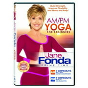 Jane Fonda Am Pm Yoga for Beginners by Trimark Home Video