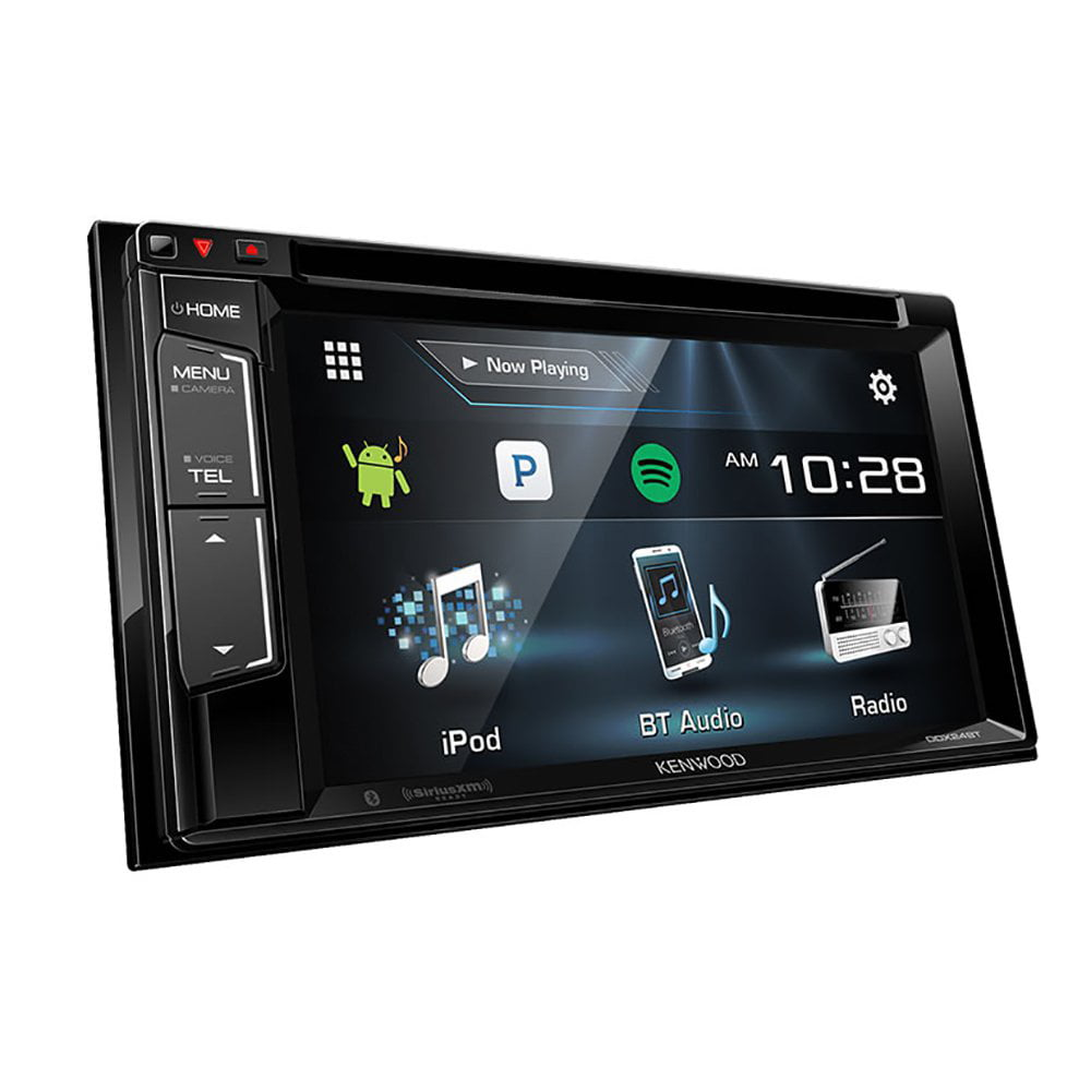 """Kenwood DDX24BT 6.2"""" Double-DIN In-Dash DVD Receiver with Bluetooth and Sirius-XM Ready by Kenwood"""